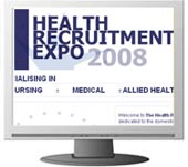 The Health Recruitment Expo. RDS Dublin.